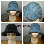 FASHION WOOL  BLEND  hat