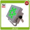 Wireless DMX Battery Powered RGBWA LED Par