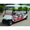 6 seat electric golf cart with soft seat