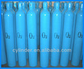 industrial seamless steel oxygen gas cylinder