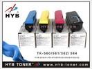 Compatible color toner cartridge TK560 toner for Kyocera copier