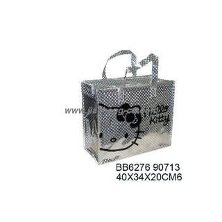 Glittery Hello Kitty Non Woven Bag