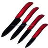 Black Blade Red Handle Best Ceramic Kitchen Knife Cutlery