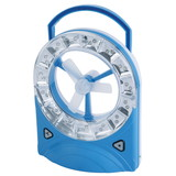 Yj-5826F led rechargeable emergency light with fan