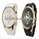 2014 Wholesale MK Wristwatch Silicone Strap Big Dial