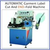 End-fold Label cutting and folding machine