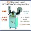 CNC ultrasonic label cutting machine
