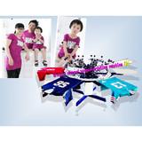 6-color t shirts manual screen printing machine