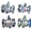 Carbon Steel API A216 WCB 2pcs floating flanged ball valves