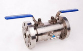 Stainless steel flange type double bleed and block valves/ DBB valve
