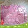 transparent red pp woven fabric sacks for potatoes