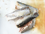 High quality Canned mackerel in Tomato/Brine Chinese Origin High Quality 425g