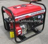 luantop portable gasoline generator 2kw GX200 6.5hp honda engine with big yamaha motor hand start