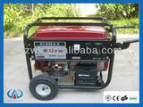 Factory direct 5kw/5kva Elemax portable gasoline generator GX390 honda engine 13hp electric start
