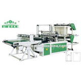 Double Layers Four Line Bottom Sealing Bag Making Machine