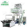 Double layer co-extrusion film blowing machine