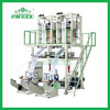 Single screw double-head film blowing machine