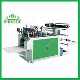 Computer control heat-sealing and heat cutting bag making machine