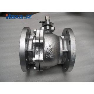 split body floating ball valve