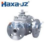 Three ways ball valve