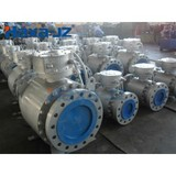 3 Piece Forged steel trunnion mounted ball valve