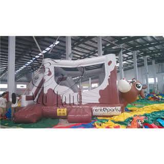 new designed commercial Cow inflatable Bouncer