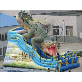 newest kids Crocodile inflatable slide for sale