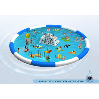 large summer hot Inflatable water park