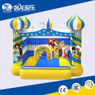 2018 new custom ODM magic lamp inflatable castle