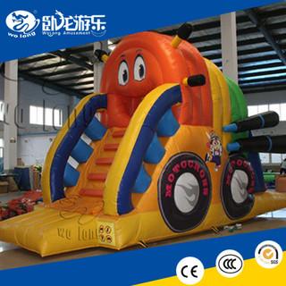 2018 hot amazing kids SuperMoto inflatable Slide