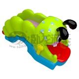 New design inflatable slide combo