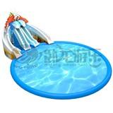 Summer popular games inflatable water park equipment