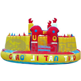 Fun park inflatable air bouncer
