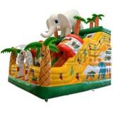 Fun park inflatable bouncy castles