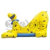 PVC indoor inflatable slide