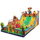 popular inflatable floating slide