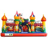 fun factory PVC inflatable forest bouncer