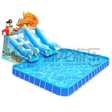 Outdoor water park inflatable for sale