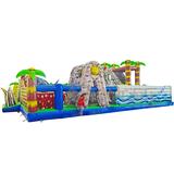 Professional EN14960 commercial slip n slide