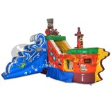 commercial lake inflatable water slides