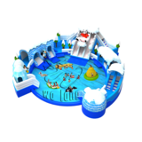 Commercial inflatable mobile water park / waterpark for summer outdoor inflatable