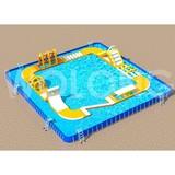Factory Wholesale water inflatable amusement park