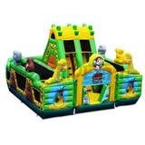 0.55 mm PVC commercial bouncing castle