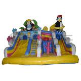 High Quality Wholesale amusement inflatable slide