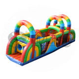 Cute outdoor obstacle course equipment