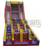 Cute Style PVC inflatable bouncy obstacle course