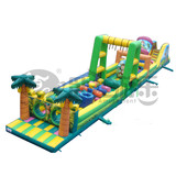 Cute Style PVC extreme inflatable obstacle course
