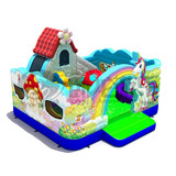 Factory pvc inflatable bouncer indoor park