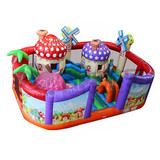 used commercial inflatable kids bouncer playground