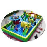 Factory pvc inflatable castle sale